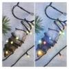 Kép 8/9 - EMOS LED karácsonyi fényfüzér 2 az 1-ben, 10 m, meleg fehér/többszínű, programozható, IP44