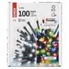 Kép 5/9 - EMOS LED karácsonyi fényfüzér 2 az 1-ben, 10 m, hideg fehér/többszínű, programozható, IP44