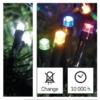 Kép 7/9 - EMOS LED karácsonyi fényfüzér 2 az 1-ben, 10 m, hideg fehér/többszínű, programozható, IP44