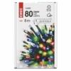 Kép 6/10 - EMOS LED karácsonyi fényfüzér, 8 m, többszínű, időzítő, IP44