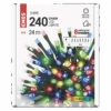 Kép 5/7 - EMOS LED karácsonyi fényfüzér, 24 m, többszínű, programokkal, IP44