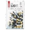 Kép 5/7 - EMOS LED karácsonyi fényfüzér, 12 m, meleg/hideg fehér, időzítő, IP44