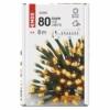 Kép 6/10 - EMOS LED karácsonyi fényfüzér, 8 m, vintage, időzítő, IP44