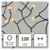 Kép 1/10 - EMOS LED karácsonyi fényfüzér, 12 m, vintage, időzítő, IP44
