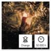 Kép 8/10 - EMOS LED karácsonyi fényfüzér, 12 m, vintage, időzítő, IP44