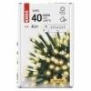 Kép 6/10 - EMOS LED karácsonyi fényfüzér, 4 m, meleg fehér, időzítő, IP44