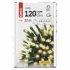Kép 6/10 - EMOS LED karácsonyi fényfüzér, 12 m, meleg fehér, időzítő, IP44