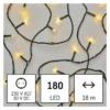 Kép 1/10 - EMOS LED karácsonyi fényfüzér, 18 m, meleg fehér, időzítő, IP44