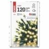 Kép 5/8 - EMOS LED karácsonyi fényfüzér, zöld, 12 m, meleg fehér, IP44