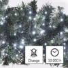 Kép 8/10 - EMOS LED karácsonyi fényfüzér süni, 12 m, hideg fehér, időzítő, IP44