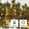 Kép 8/10 - EMOS LED karácsonyi fényfüzér süni, 12 m, vintage, időzítő, IP44