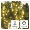 Kép 8/10 - EMOS LED karácsonyi fényfüzér süni, 8 m, meleg fehér, időzítő, IP44