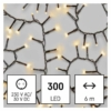 Kép 1/7 - EMOS LED karácsonyi fényfüzér süni, 6 m, meleg fehér, időzítő, IP44