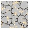 Kép 2/7 - EMOS LED karácsonyi fényfüzér süni, 6 m, meleg fehér, időzítő, IP44