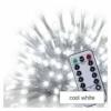 Kép 4/10 - EMOS LED karácsonyi jégcsapok, 5 m, hideg fehér, távirányító, progr, időzítő, IP44