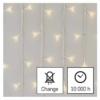 Kép 8/10 - EMOS LED karácsonyi jégcsapok, 5 m, meleg fehér, távirányító, progr, időzítő, IP44