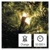 Kép 8/10 - EMOS LED karácsonyi fényfüzér, 2.8 m, 3x AA, meleg fehér, időzítő, IP44