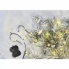 Kép 9/10 - EMOS LED karácsonyi fényfüzér, 2.8 m, 3x AA, meleg fehér, időzítő, IP44
