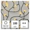 Kép 1/9 - EMOS LED karácsonyi fényfüzér, 5 m, beltéri, meleg fehér