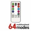 Kép 2/8 - EMOS LED karácsonyi fényfüzér, cseresznye golyók, 10 m, RGB, távirányító, programok, időzítő, IP44