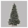 Kép 3/10 - EMOS LED karácsonyi fényfüzér, cseresznye  golyók, 48 m, hideg fehér, időzítő, IP44