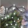 Kép 9/10 - EMOS LED karácsonyi fényfüzér, cseresznye golyók, 20 m, hideg fehér, programozható, IP44