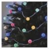 Kép 1/10 - EMOS LED fényfüzér, cseresznye golyók 2.5 cm, 4 m, többszínű, időzítő, IP44