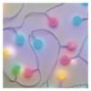 Kép 3/10 - EMOS LED fényfüzér, cseresznye golyók 2.5 cm, 4 m, többszínű, időzítő, IP44