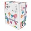 Kép 7/10 - EMOS LED fényfüzér, cseresznye golyók 2.5 cm, 4 m, többszínű, időzítő, IP44