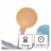 Kép 8/10 - EMOS LED fényfüzér, cseresznye golyók 2.5 cm, 4 m, többszínű, időzítő, IP44