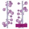 Kép 3/10 - EMOS LED fényfüzér, cseresznye golyók 2.5 cm, 4 m, pink, időzítő, IP44