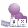 Kép 6/10 - EMOS LED fényfüzér, cseresznye golyók 2.5 cm, 4 m, pink, időzítő, IP44