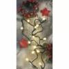 Kép 9/10 - EMOS LED karácsonyi fényfüzér, cseresznye golyók, 20 m meleg fehér, időzító, IP44