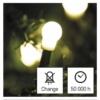 Kép 8/10 - EMOS LED karácsonyi fényfüzér, cseresznye golyók, 48 m meleg fehér, időzító, IP44