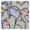 Kép 2/10 - EMOS LED karácsonyi fényfüzér, cseresznye golyók, 2.5 m, beltéri, többszínű