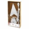 Kép 5/6 - EMOS Gyertyatartó E14, papírcsillaggal, fehér, 67x45 cm, beltéri
