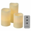 Kép 1/5 - EMOS LED dekoráció 3x viaszgyertya, 3x3 AAA, beltéri, vintage, távirányító