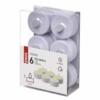 Kép 4/5 - EMOS LED dekoráció 6x teamécses, fehér, 6x CR2032, beltéri, vintage