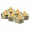 Kép 2/5 - EMOS LED dekoráció 6x teamécses, arany, 6x CR2032, beltéri, vintage