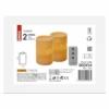 Kép 2/6 - EMOS LED dekoráció 2 db viasz gyertya, 12.5 cm, 2× AA, távirányító, időzítő