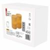 Kép 3/6 - EMOS LED dekoráció 2 db viasz gyertya, 12.5 cm, 2× AA, távirányító, időzítő
