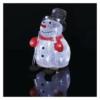 Kép 6/7 - EMOS LED karácsonyi hóember, 28 cm, kültéri és beltéri, hideg fehér, időzítő, IP44