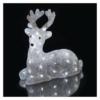 Kép 6/8 - EMOS LED karácsonyi szarvas, 27 cm, kültéri és beltéri, hideg fehér, időzítő, IP44