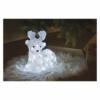 Kép 7/8 - EMOS LED karácsonyi szarvas, 27 cm, kültéri és beltéri, hideg fehér, időzítő, IP44