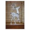 Kép 7/8 - EMOS LED karácsonyi 3D rénszarvas, 76 cm, beltéri, hideg fehér, időzítő, IP44