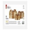 Kép 3/6 - EMOS LED ajándékok, 3 méret, beltéri, meleg fehér