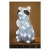 Kép 6/7 - EMOS LED dekoráció világító mosómedve, 39 cm, hideg fehér, időzítő, IP44