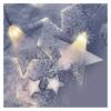 Kép 7/8 - EMOS LED karácsonyi fényfüggöny csillagok, 120x90 cm, meleg fehér, időzítő, IP44