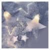 Kép 7/8 - EMOS LED karácsonyi fényfüggöny csillagok, 45x84 cm, meleg fehér, IP44