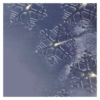 Kép 6/7 - EMOS LED karácsonyi fényfüggöny hópelyhek, 45x84 cm, meleg fehér, időzítő IP44